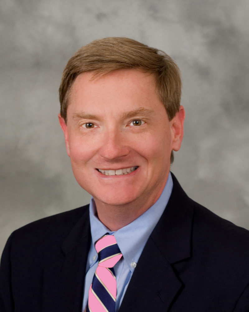 Dr. Petty with Pink Tie