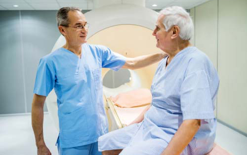 Radiologist and Patient Sharing Information